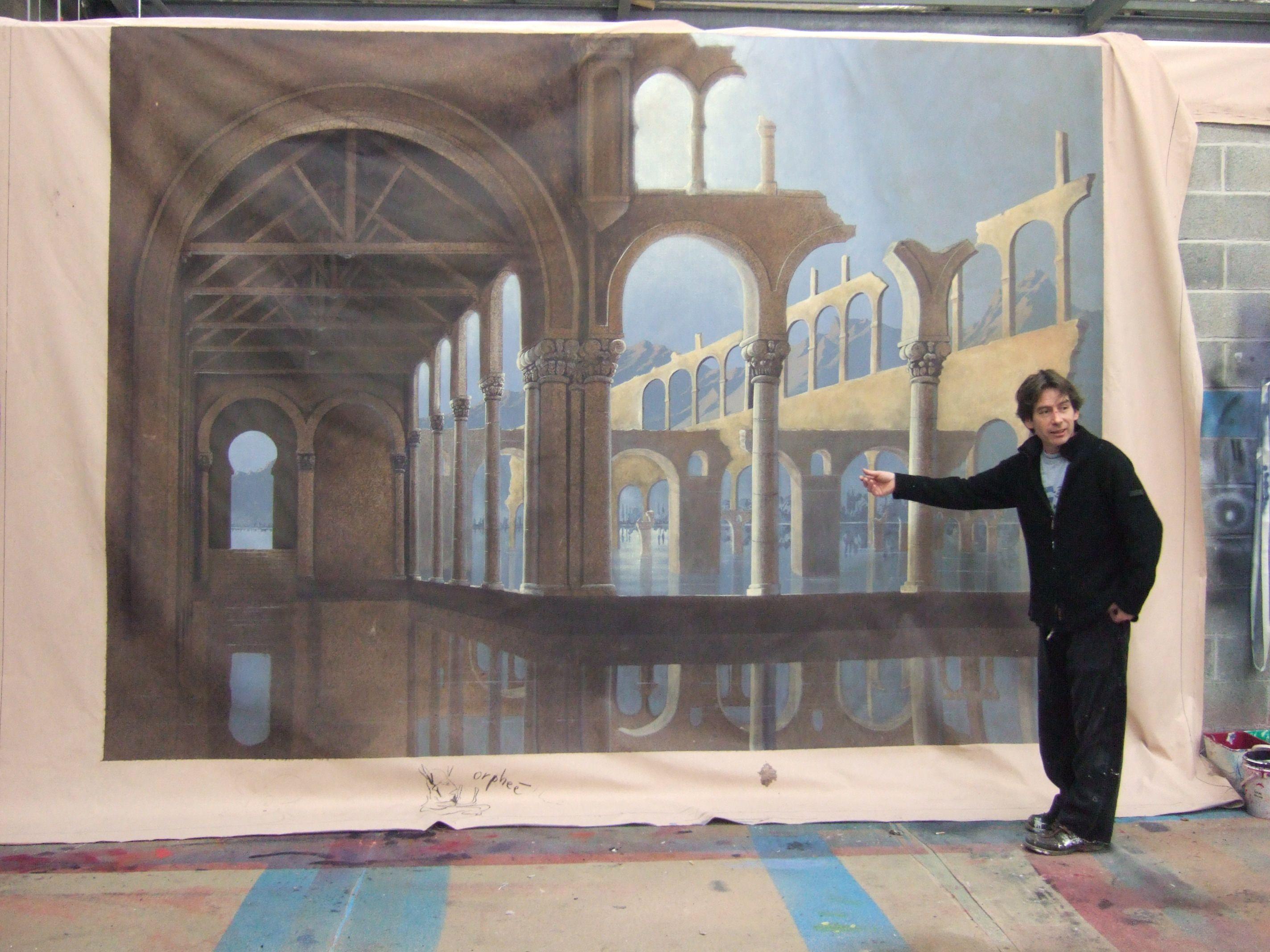 Thierry adam peintre d co accessoire for Peintre decorateur